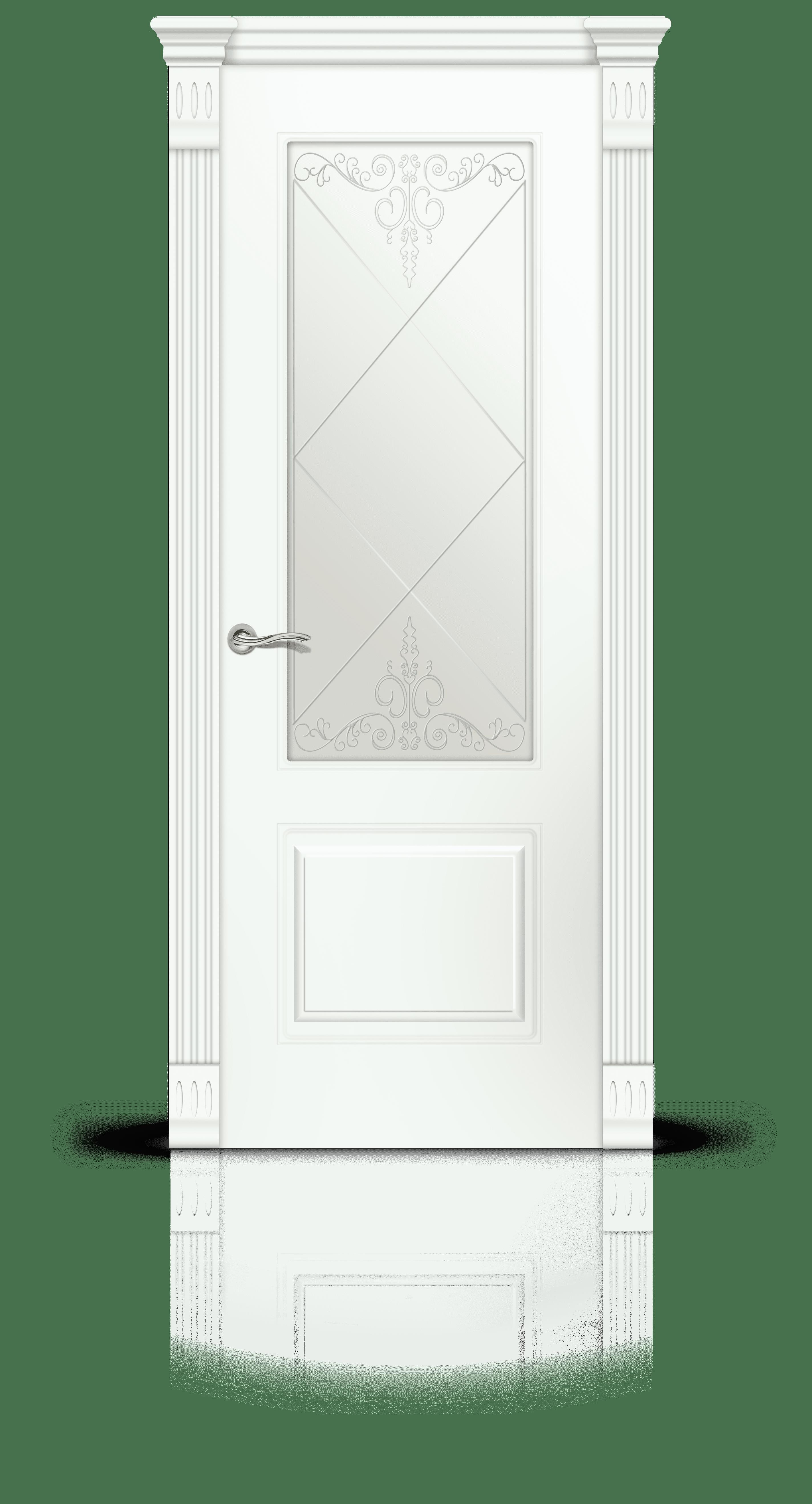 Вероник эмаль белый стекло