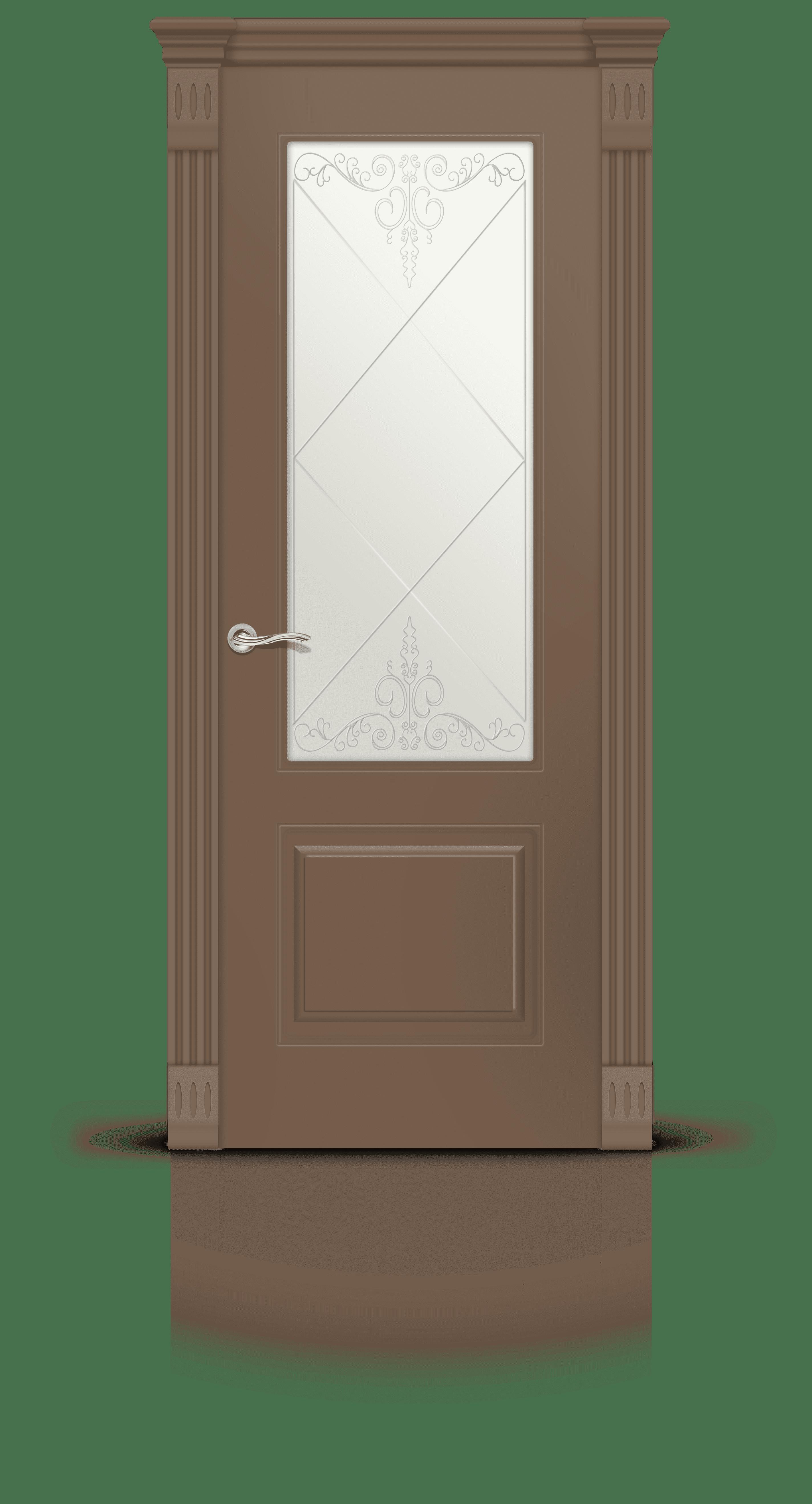 Вероник эмаль коричневый 2 стекло