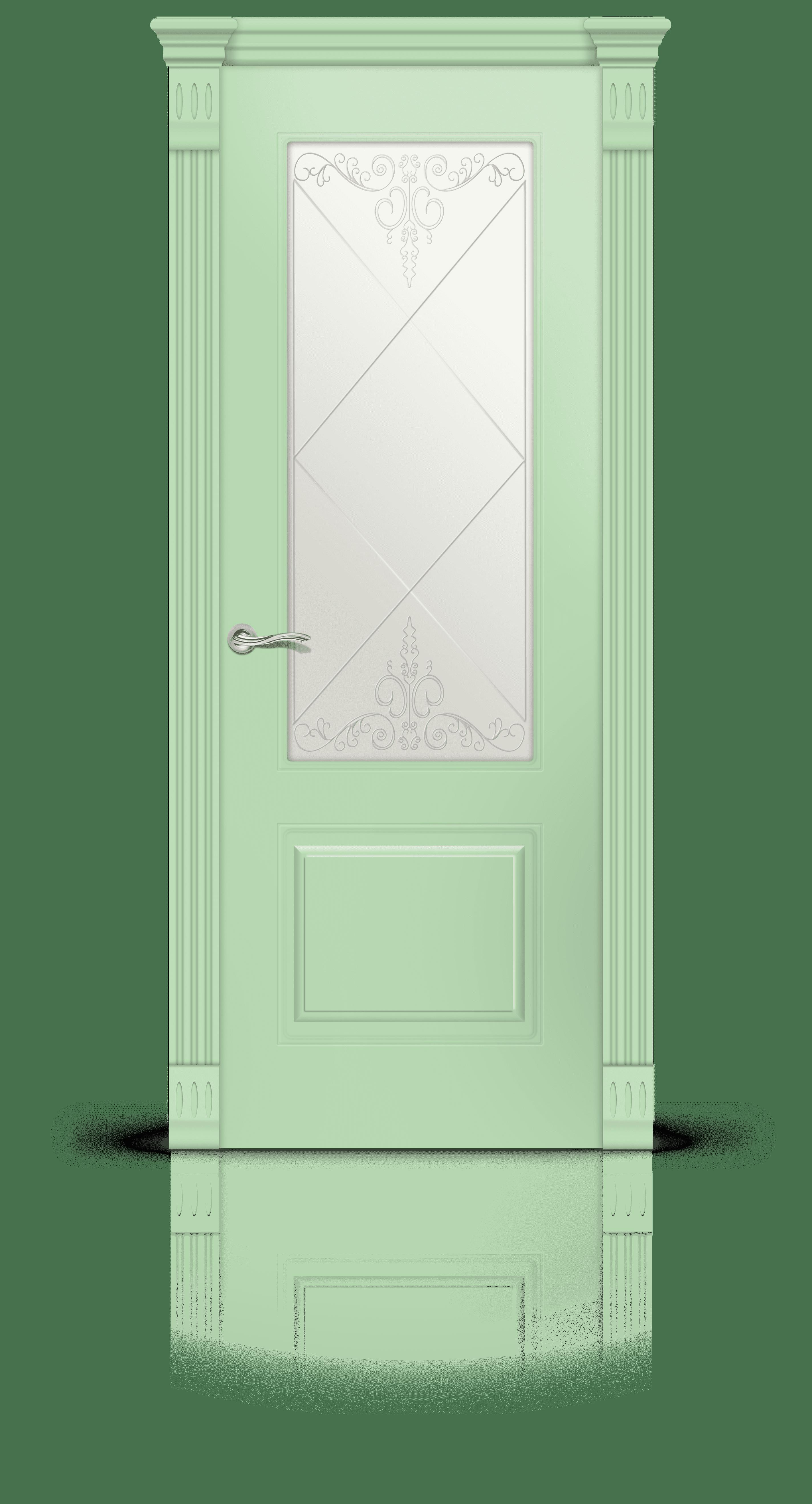 Вероник эмаль фисташка стекло