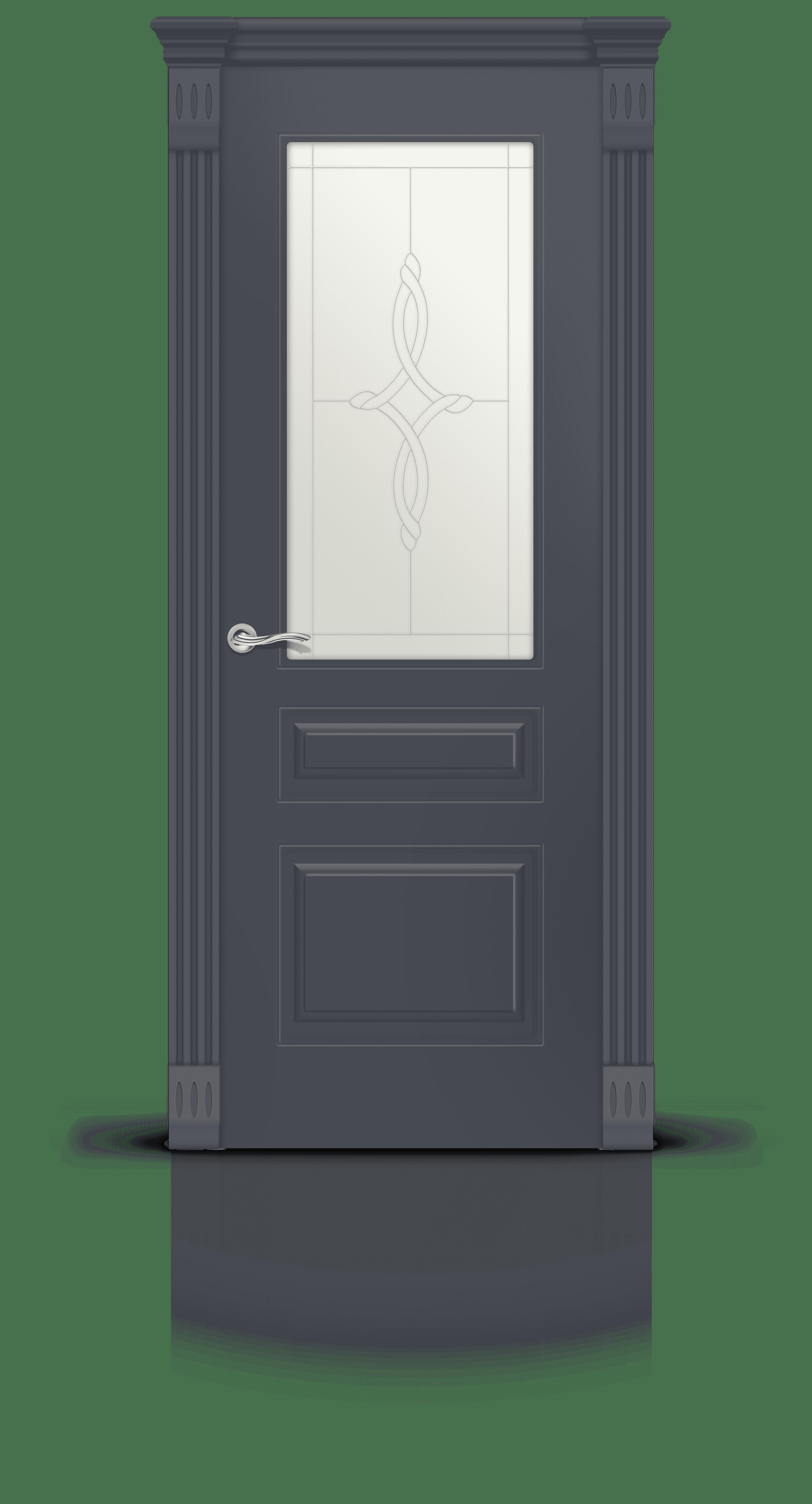 Вероник 2 эмаль графит стекло