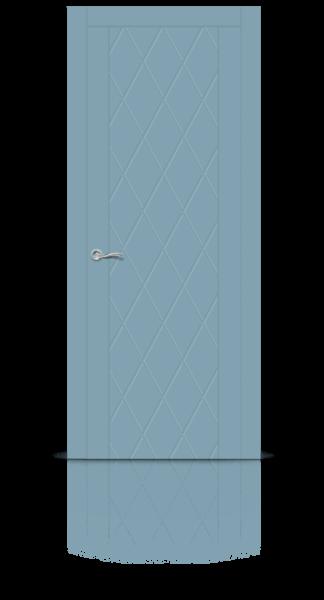 Готика эмаль голубой