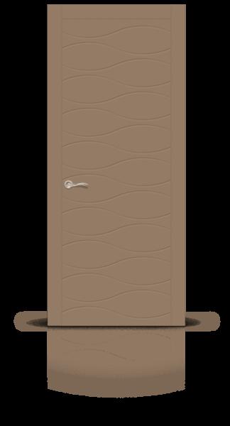 Летиция эмаль коричневый