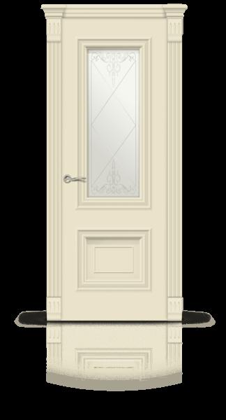 Мальта эмаль RAL 1013 стекло 1