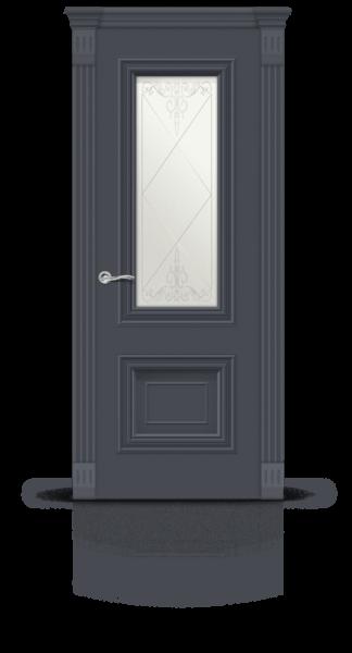 Мальта эмаль RAL 7024 графит стекло1