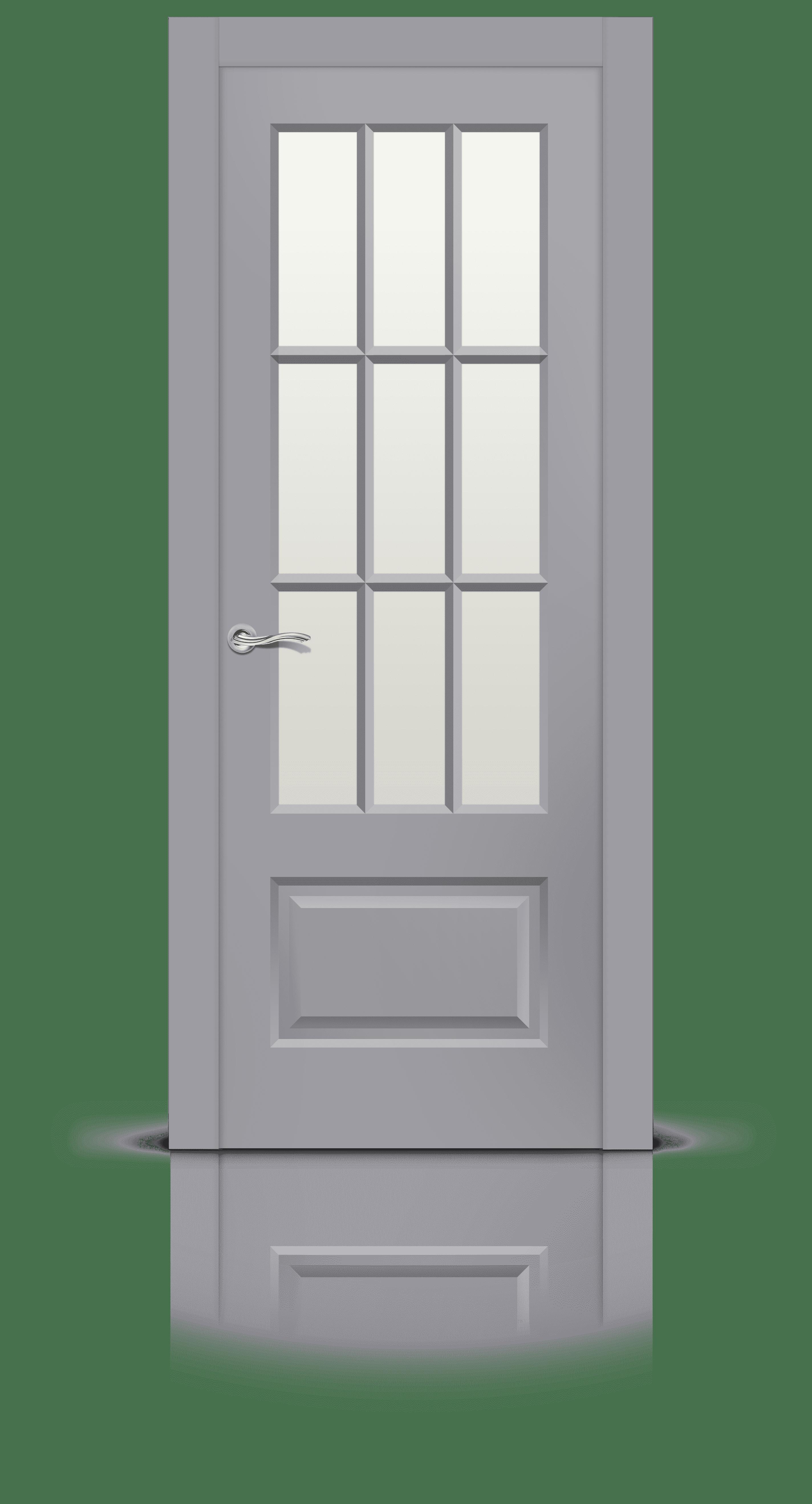 Олимп 2 эмаль RAL 7040 стекло белое