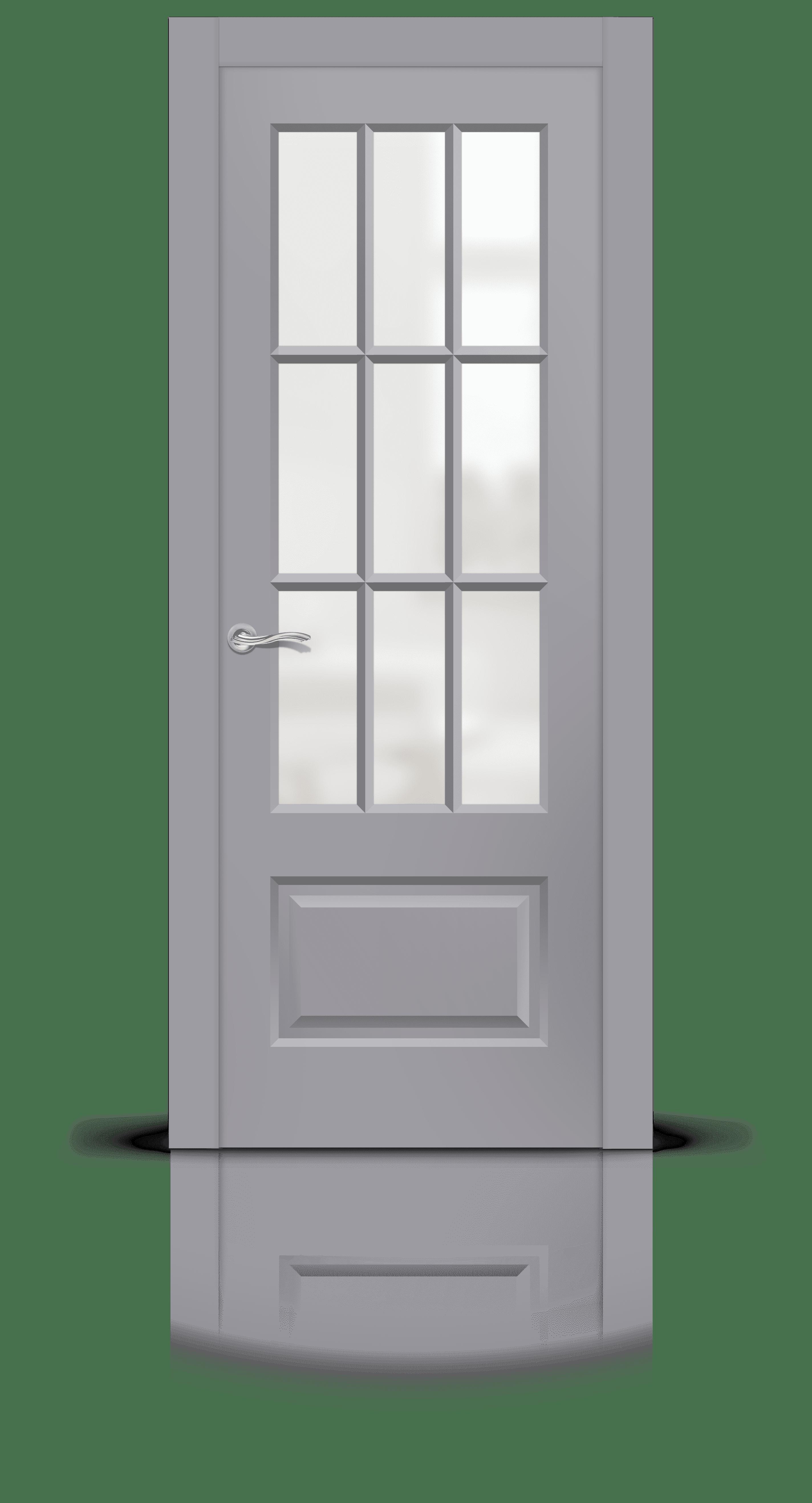 Олимп 2 эмаль RAL 7040 стекло матовое