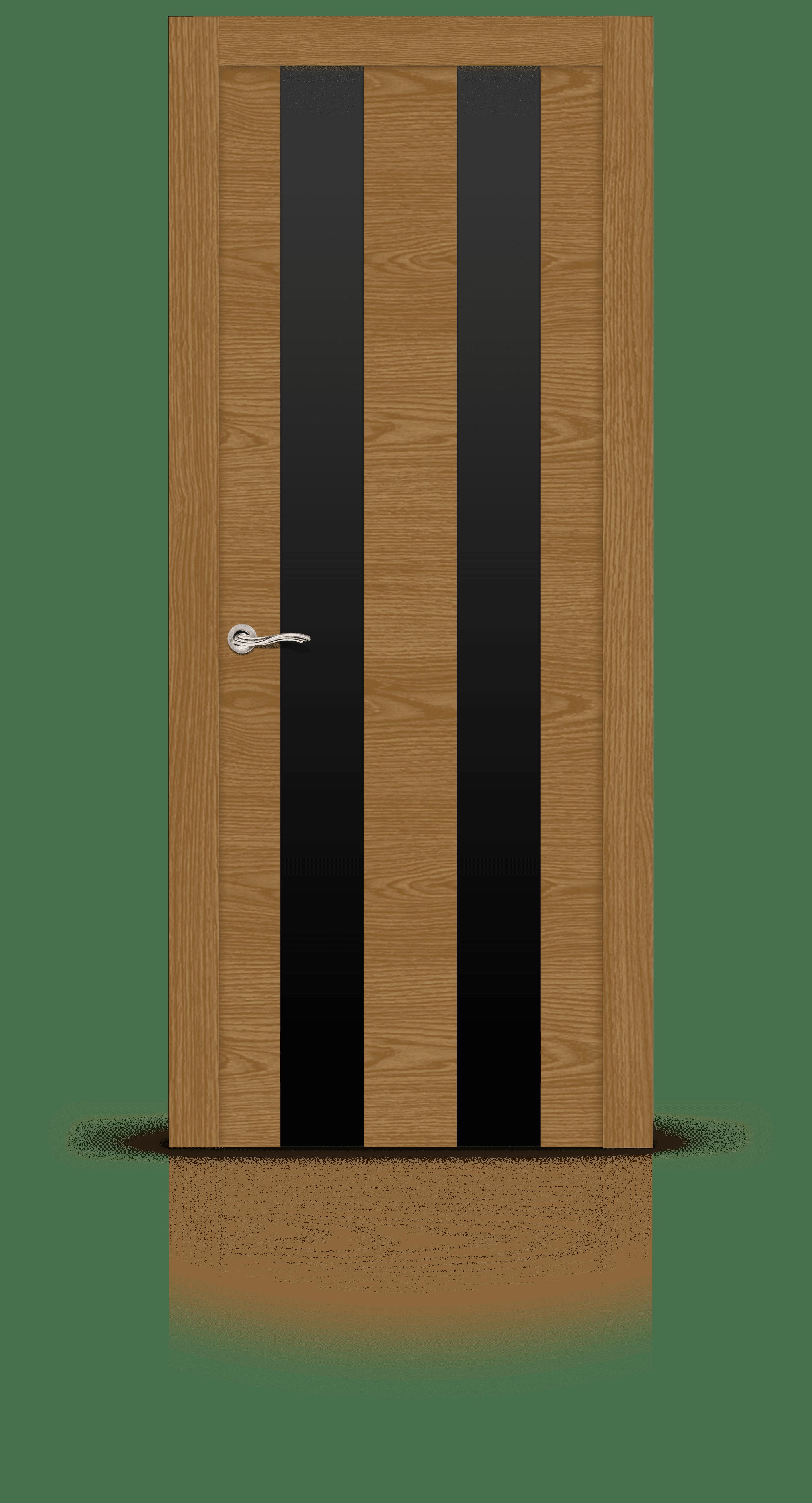 Ультра 2 дуб медовый стекло черное