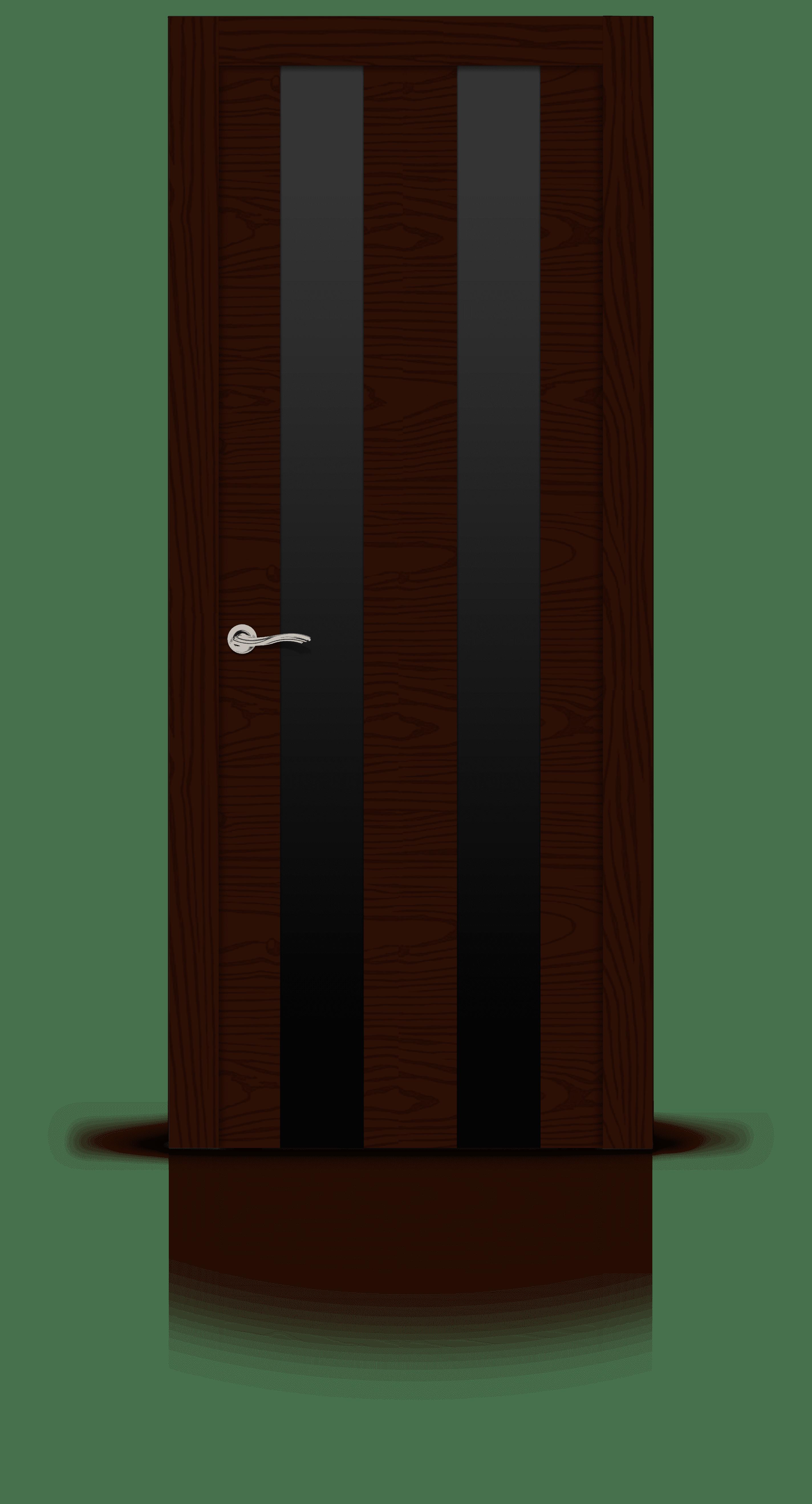 Ультра 2 ясень шоколад стекло черное