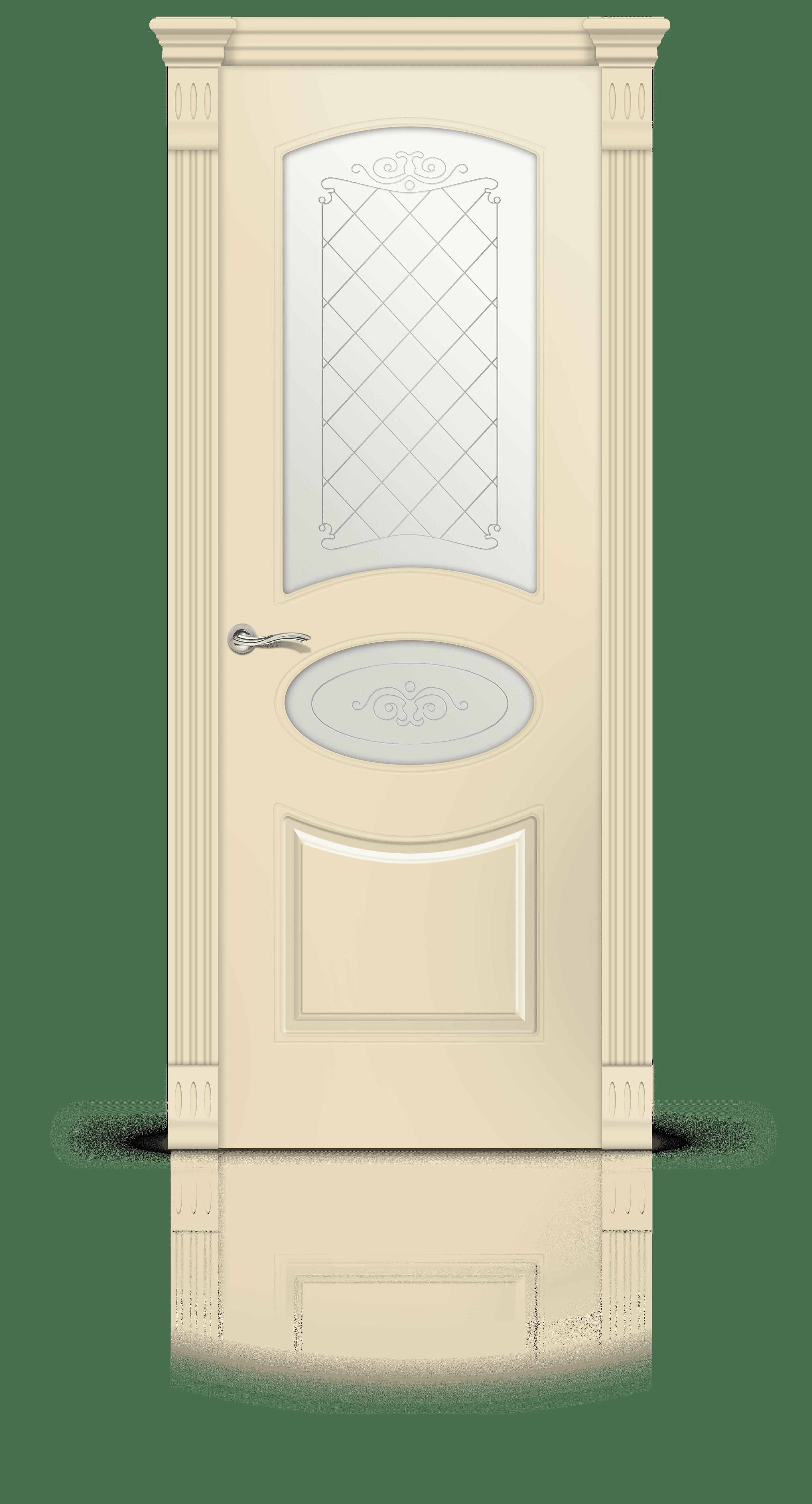 Эстель эмаль бежевый стекло