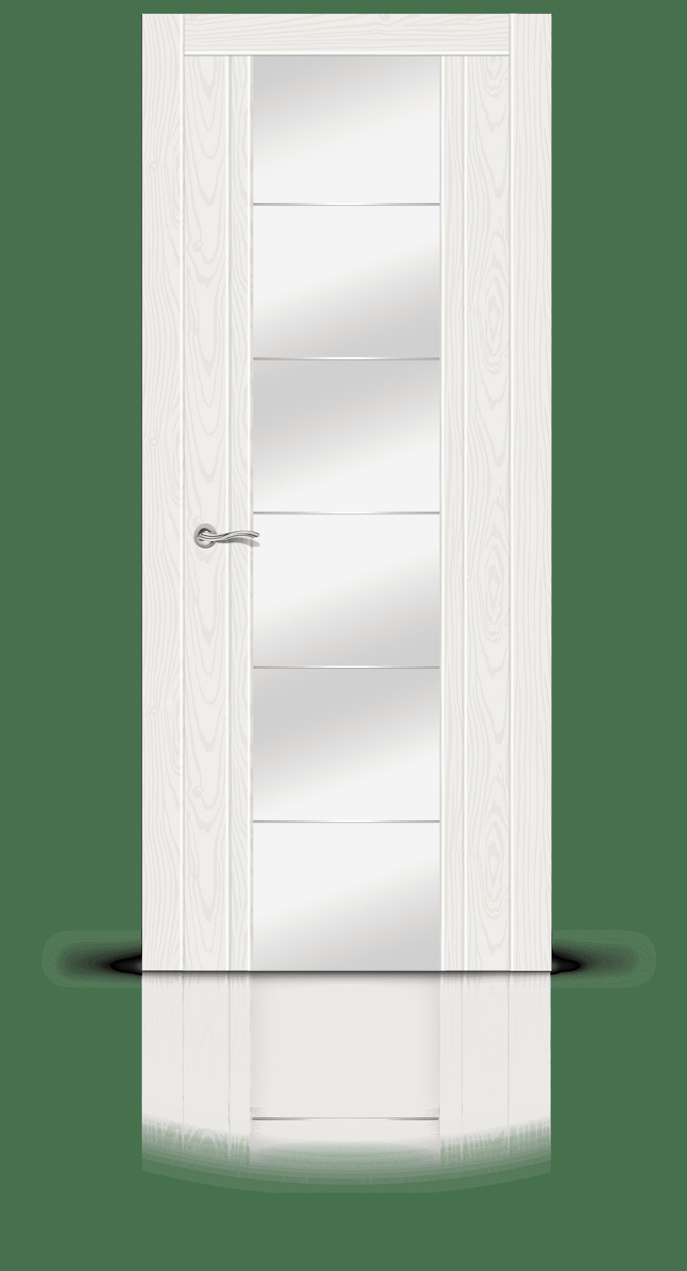 Виконт белый ясень стекло зеркало