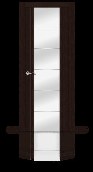 Виконт венге стекло зеркало
